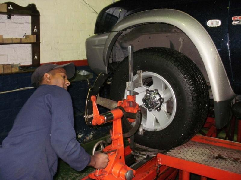 Wheel Alignment and Balancing in Uganda